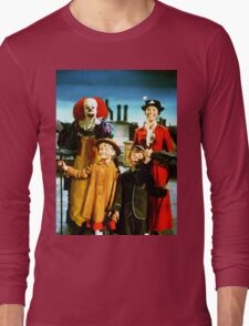 PENNYWISE IN MARY POPPINS Long Sleeve T-Shirt