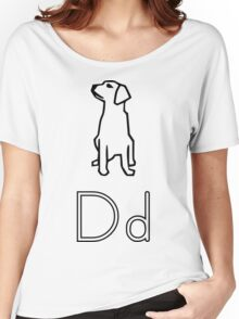 D for Dog Women's Relaxed Fit T-Shirt