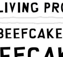 Cartman South Park Beefcake Quote Sticker