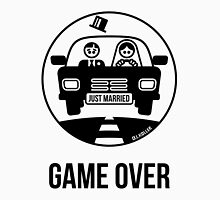 Just Married – Game Over (1C) Unisex T-Shirt