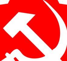 Communist Star; Hammer And Sickle Sticker