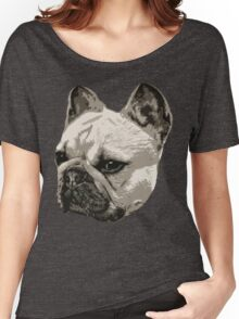 Frenchie - portrait Women's Relaxed Fit T-Shirt