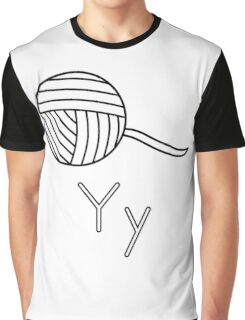 Y for Yarn Graphic T-Shirt