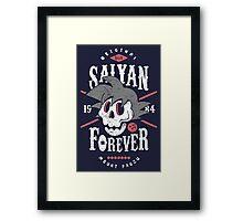 Saiyan Forever Framed Print