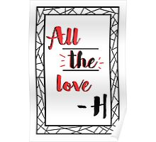All the love Poster