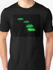 Bioluminescent Mushrooms T-Shirt