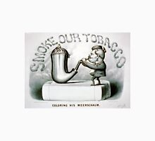 Coloring his meerschaum - 1880 - Currier & Ives Unisex T-Shirt