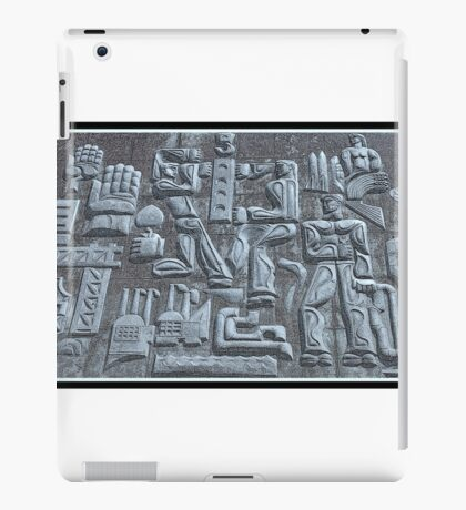 Soviet Artwork From Azerbaijan iPad Case/Skin