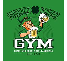 Green Irish Gym Photographic Print