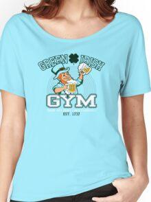 Green Irish Gym Women's Relaxed Fit T-Shirt