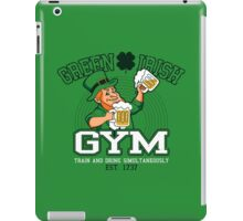 Green Irish Gym iPad Case/Skin