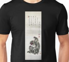 Monkeys by Mori Sosen Unisex T-Shirt
