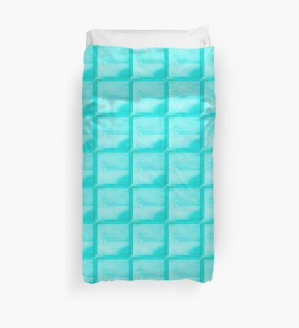 Diamond Block Duvet Cover