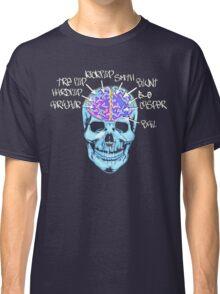 Skate On The Brain ~ Anachrotees Design Classic T-Shirt