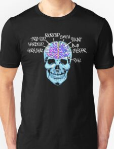 Skate On The Brain ~ Anachrotees Design T-Shirt
