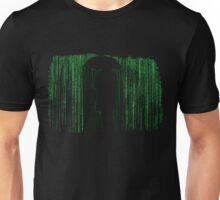 The Matrix Inspired Raining Code Design Unisex T-Shirt