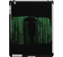 The Matrix Inspired Raining Code Design iPad Case/Skin