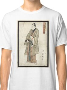 Ichikawa Yaozo III In the Role of Yoshida-ya- Kizaemon - 1804 - woodcut Classic T-Shirt