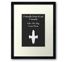 Friends Series - Firefly Framed Print