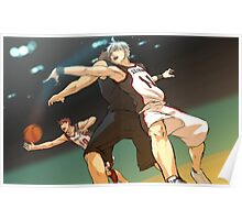 Passing The Ball Kuroko Poster