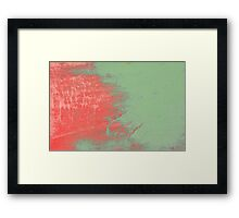Breath of Dragon Abstract Framed Print