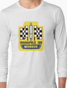 Vintage Indianapolis 500 decal Monroe Long Sleeve T-Shirt