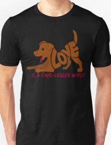 FOUR LEGGED WORD T-Shirt