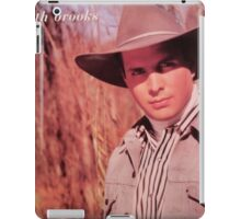 Vintage Garth Brooks Young iPad Case/Skin
