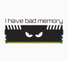 I have bad memory RAM Kids Tee