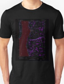 New York NY Union Springs 139440 1955 24000 Inverted T-Shirt