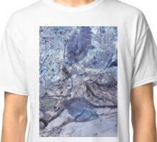 Crystal and Blue Persuasions Abstract I Classic T-Shirt