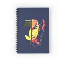 shiva the omega Spiral Notebook
