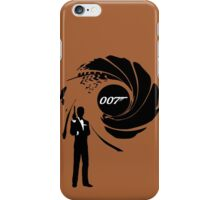 james bond iPhone Case/Skin