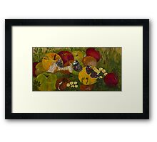 Nectar with Rosie Framed Print