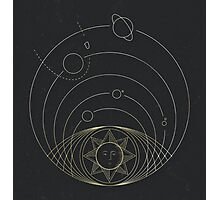 heliocentrism Photographic Print