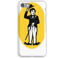 Vintage Charlie Chaplin decal iPhone Case/Skin