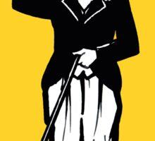 Vintage Charlie Chaplin decal Sticker