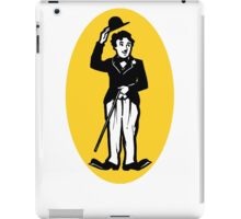 Vintage Charlie Chaplin decal iPad Case/Skin