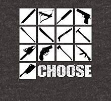 Choose your weapon!!! Unisex T-Shirt