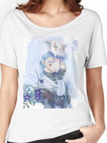 unique shin-ah painting Women's Relaxed Fit T-Shirt