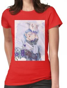 unique shin-ah painting Womens Fitted T-Shirt