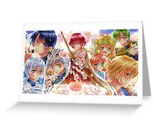 Akatsuki no yona characters Greeting Card
