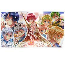 Akatsuki no yona characters Poster