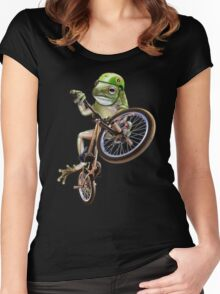 FROG BMX Women's Fitted Scoop T-Shirt