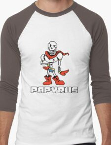 Papyrus (Undertale) Men's Baseball ¾ T-Shirt