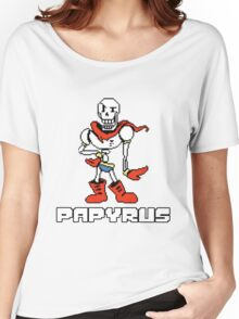 Papyrus (Undertale) Women's Relaxed Fit T-Shirt