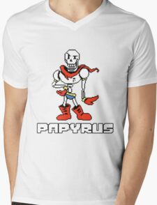 Papyrus (Undertale) Mens V-Neck T-Shirt