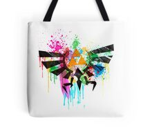 Hylian Paint Splatter Tote Bag
