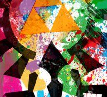 Hylian Paint Splatter Sticker