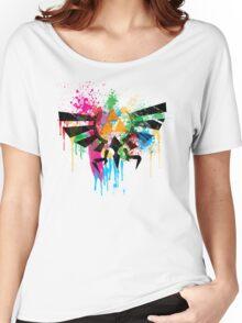 Hylian Paint Splatter Women's Relaxed Fit T-Shirt